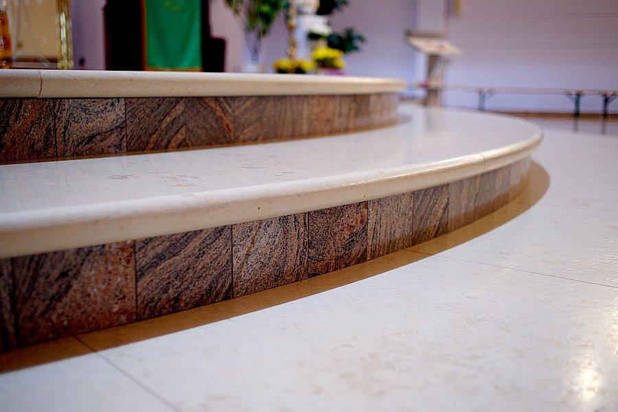 estetyczne schody marmurowe